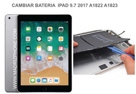 Cambiar / Reparar Bateria Apple Ipad 9.7 2017 A1822,A1823