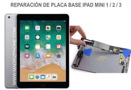 Reparar / Reparación Placa Base Apple iPAD Mini 1 / 2 / 3 ( A1432, A1454, A1455 , A1489 , A1490 , A1491 , A1599 , A1600 )
