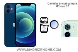 Cambiar / Reparar Cristal de la Cámara Trasera Apple iPhone 12
