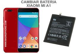 Cambiar / Sustituir Bateria Xiaomi Mi A1