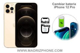 Cambiar / Sustituir Batería Apple  iPhone 12 Pro Calidad Premium