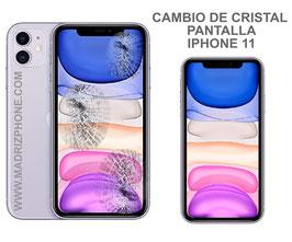 Cambiar / Reparar Cristal de la Pantalla Apple iPHONE 11