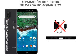 Cambiar / Reparar Conector de Carga BQ AQUARIS X2