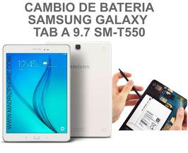 Cambiar / Reemplazar Bateria Samsung Galaxy TAB A 9.7 SM-T550 , SM-T555