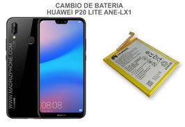 Cambiar / Reparar Bateria HUAWEI P20 Lite ANE-LX1