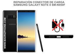 Cambiar / Reparar Puerto de Carga Samsung Galaxy Note 8 SM-N950F