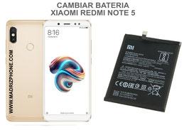 Cambiar / Sustituir Bateria Xiaomi Redmi Note 5
