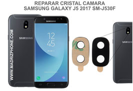 Cambiar / Reparar Cristal camara trasera SAMSUNG GALAXY J5 2017 SM-J530F