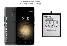 Cambiar / Sustituir Bateria BQ AQUARIS U PLUS Calidad Premium
