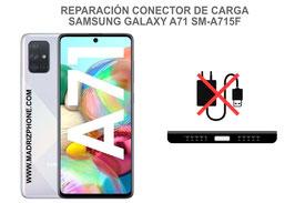 Cambiar / Reparar Conector de Carga Samsung Galaxy A71 SM-A715F