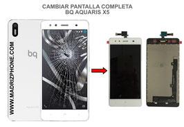 Cambiar / Reparar pantalla completa BQ Aquaris X5 PLUS Calidad Premium