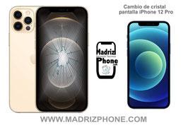 Cambiar / Reparar Cristal de la Pantalla Apple iPhone 12 Pro