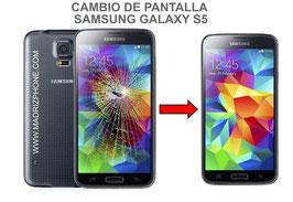 Cambiar  / Reparar pantalla  Original Samsung Galaxy S5 SM-G900F , I9600