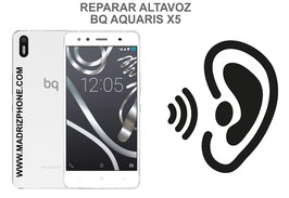 Cambiar / Reparar Altavoz Auricular BQ AQUARIS X5 PLUS