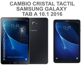Cambiar / Reparar cristal tactil pantalla Samsung Galaxy TAB A SM-T580 , SM-T585 ( A6 )