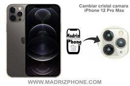 Cambiar / Reparar Cristal de la Cámara Trasera Apple iPhone 12 Pro Max