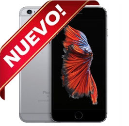 APPLE IPHONE 6S 16GB GRIS ESPACIAL NEGRO LIBRE NUEVO PRECINTADO