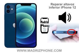 Reparar / Cambiar altavoz inferior de música Apple iPhone 12