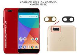 Cambiar / Sustituir Cristal camara trasera Xiaomi Mi 5X