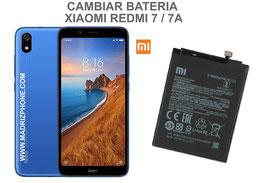 Cambiar / Sustituir Batería Xiaomi Redmi 7 / 7A ( M1903C3EC , M1810F6LG )