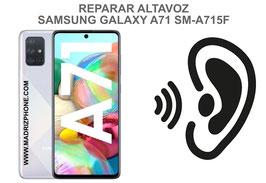 Cambiar / Reparar Altavoz Auricular Samsung Galaxy A71 SM-A715F