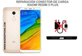 Cambiar / Reparar Conector de Carga Xiaomi Redmi 5 Plus