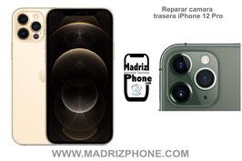 Cambiar / Reparar Cámara Trasera Apple iPhone 12 Pro Original