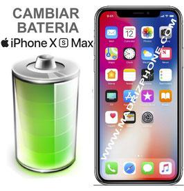 Cambiar Sustitucion Bateria Apple  iPHONE Xs  Max (ORIGINAL)