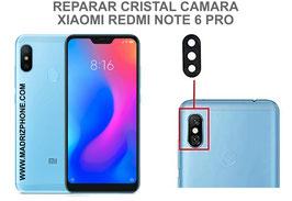 Cambiar / Reparar Cristal camara trasera Xiaomi Redmi Note 6 Pro