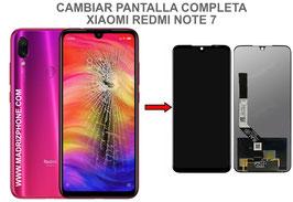 Cambiar / Reparar pantalla completa Xiaomi Redmi Note 7 ( M1901F7G )
