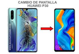Cambiar / Reparar Pantalla Completa HUAWEI P30 ( ELE-L09 ELE-L29 )  Calidad Premium