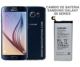Cambiar / Sustitucion Bateria Samsung Galaxy S6 SM-G920F , S6 EDGE SM-G925F , S6 EDGE PLUS SM-G928F