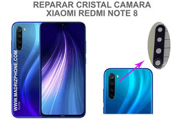 Cambiar / Reemplazo Cristal camara trasera Xiaomi Redmi Note 8 ( M1908C3JG )