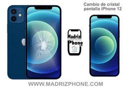 Cambiar / Reparar Cristal de la Pantalla Apple iPhone 12