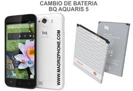 Cambiar / Sustituir Bateria BQ AQUARIS 5 / Fnac Phablet 5 Calidad Premium