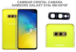 Cambiar / Reparar Cristal camara trasera Samsung Galaxy  S10e SM-G970F