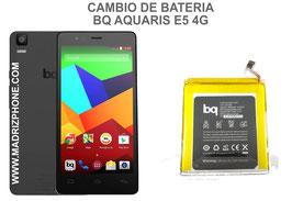 Cambiar / Sustituir Bateria BQ AQUARIS E5 4G Calidad Premium