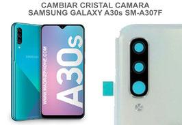 Cambiar / Reparar Cristal camara trasera Samsung Galaxy A30s SM-A307F