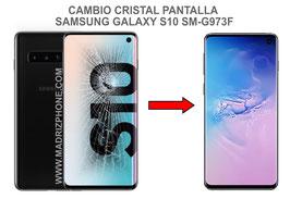 Cambiar / Reparar Cristal de la Pantalla Samsung Galaxy S10 SM-G973F