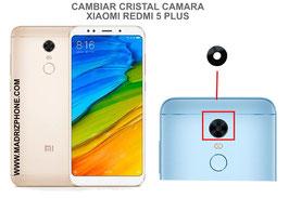 Cambiar / Sustituir Cristal camara trasera Xiaomi Redmi 5 Plus