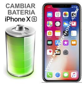 Cambiar / Sustitucion Batería APPLE  iPHONE Xs Calidad Premium
