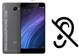Cambiar / Reparar Altavoz Auricular Xiaomi Redmi 4A