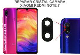 Cambiar / Reparar Cristal camara trasera Xiaomi Redmi Note 7  ( M1901F7G )