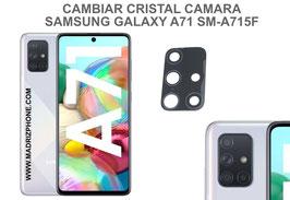 Cambiar / Reparar Cristal camara trasera Samsung Galaxy A71 SM-A715F