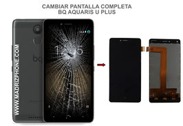Cambiar / Reparar pantalla completa BQ Aquaris U PLUS Calidad Premium