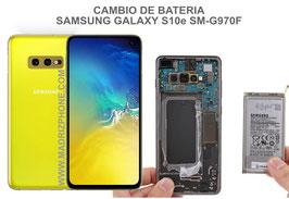 Cambiar / Sustitucion Bateria Samsung Galaxy S10e SM-G970F