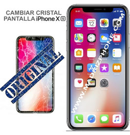 Cambiar / Reparar Cristal de la Pantalla  APPLE iPHONE Xs