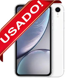 APPLE IPHONE XR 128GB BLANCO LIBRE USADO 10/10