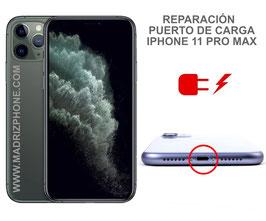 Cambiar / Reparar conector de carga iPHONE 11 PRO MAX
