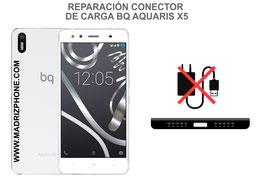 Cambiar / Reparar Conector de Carga BQ AQUARIS X5